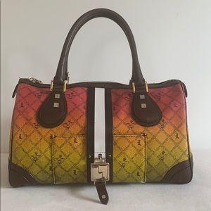 L.A.M.B By Gwen Stefani $600 Rasta Satchel Bag
